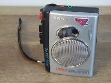 walkmam cassette sony  recording sony original