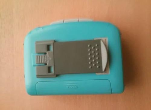walkman aiwa   radio cassete de coleccion rojo