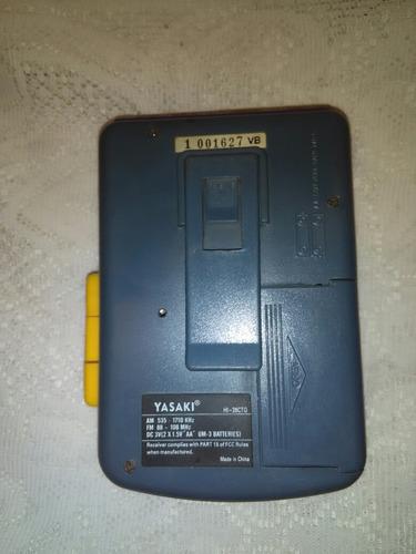 walkman am ,fm radio cassette yasaki