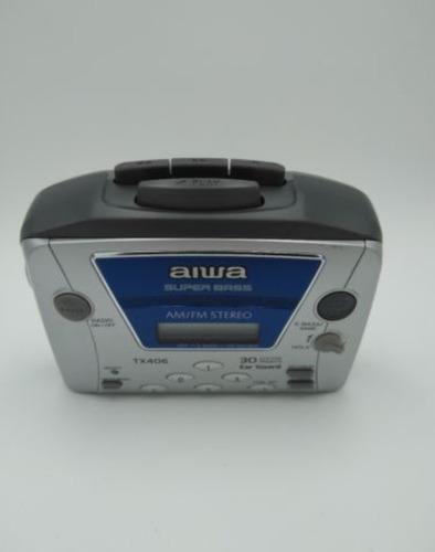 walkman cassette aiwa hs-tx406