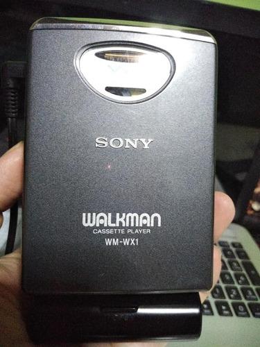 walkman cassette sony wm-wx1 auto reverse discman minidisc