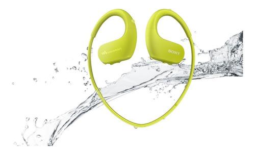 walkman mp3 sony de 4gb resistente al agua nw-ws413