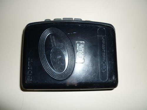 walkman o reproductor de cassette y radio sony wm-fx281