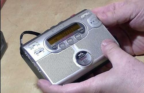 walkman radio cassette sony el mas completo de todos