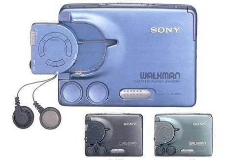walkman sony cassette de aluminio coleccion
