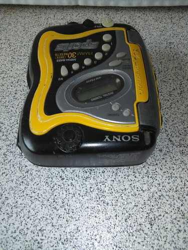 walkman sony clasico funciona radio