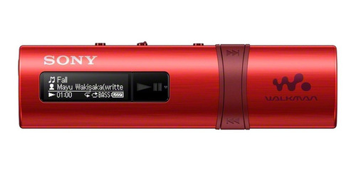 walkman sony con usb integrado nwz-b183f