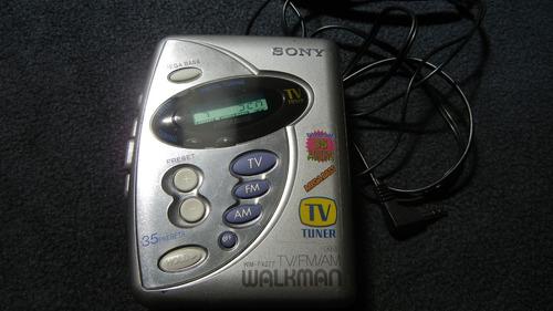walkman sony fx277 recept frecuencias de tv am fm