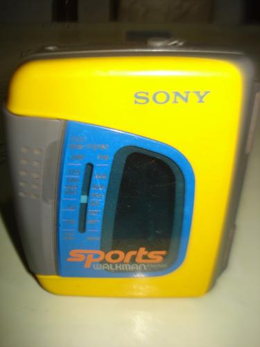 walkman sony sport de los 80s funcionando !!