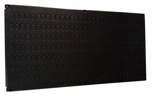 wall control 30hp1632 b 16 x 32 horizontal black metal pegbo