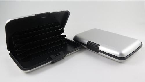 wallet billetera cartera aluminio envío gratis servientrega