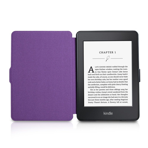 walnew amazon kindle paperwhite estuche libro retro estil