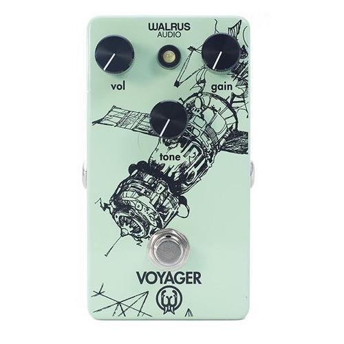 walrus audio voyager preamp overdrive pedal de guitarra