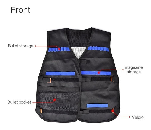 walsilk - conjunto de chaleco táctico para niños de la se