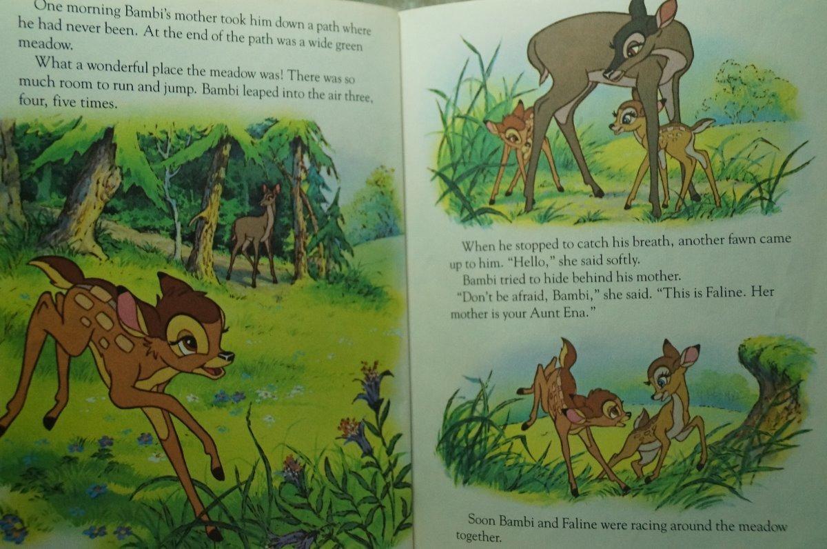 Walt Disney's Bambi A Little Golden Book - $ 199 00