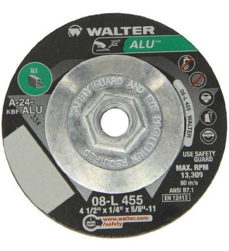 walter rueda de corte y molienda de rendimiento de aluminio