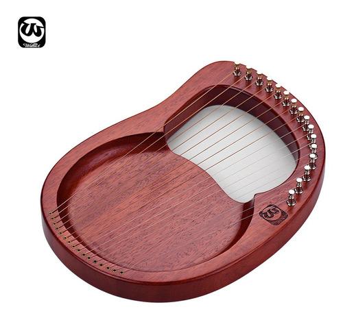 walter.t arpa de lira de madera de 16 cuerdas cuerdas de