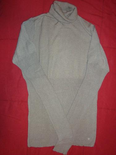 wanama sweater polera gris talle 44 envio gratis cuotas!!!
