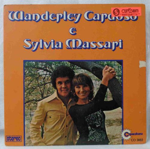 wanderley cardoso & sylvia compacto nacional usado enfim só