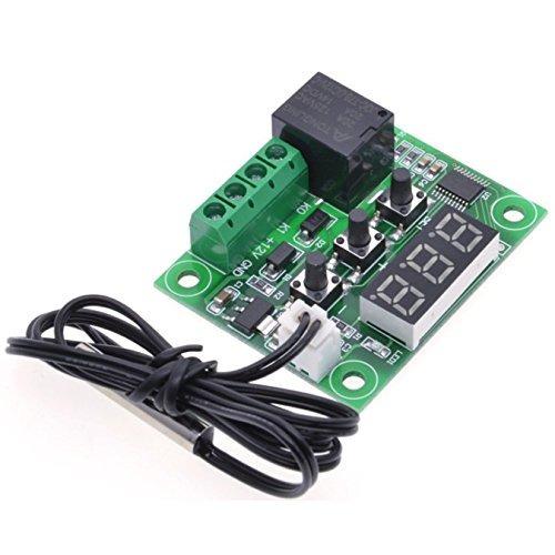 wangdd22 w ° c 12v dc digital termostato de control de temp
