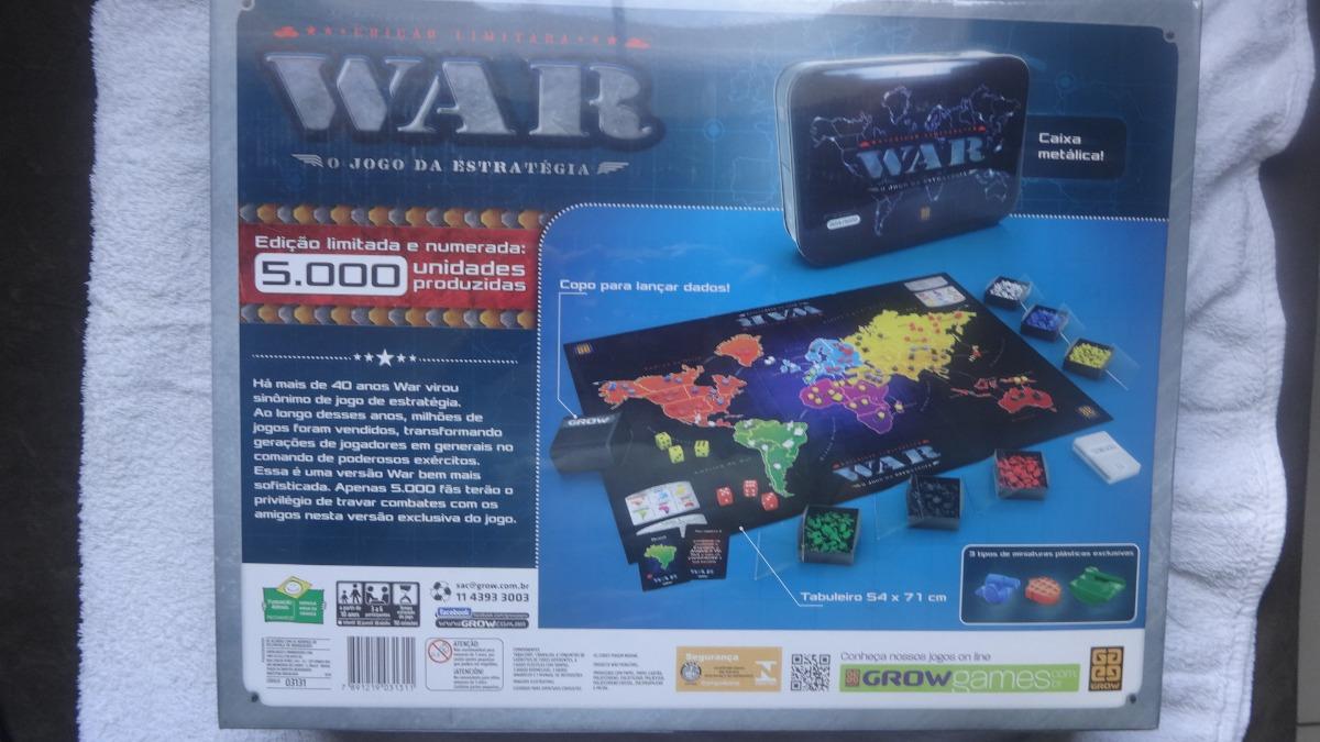 War Ediçao Limitada Leia O Anuncio - R  1.000,00 em Mercado Livre ba32387fc2