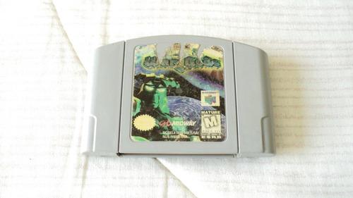 war gods cartucho para nintendo 64 midway 1997