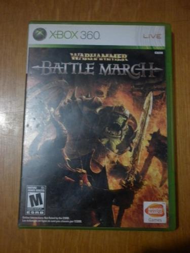war hamer battle march