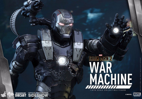 war machine diecast hot toys ironman 2 marvel homem de ferro