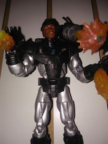 war machine toy biz con todo lo que sale en la foto