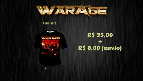 warage - camiseta behind my mask