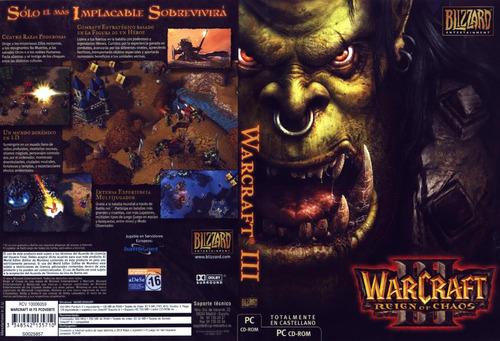 warcraft 3 complete pc español /  envio rapido