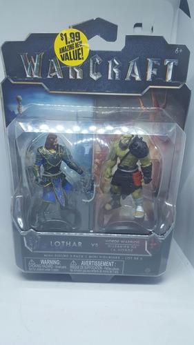warcraft lothar guerrero de la orde figuras accion