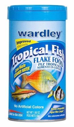 wardley alimento básico 170g para peces