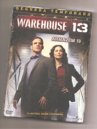 warehouse 13 - 2ª temporada 3 dvds lacrado