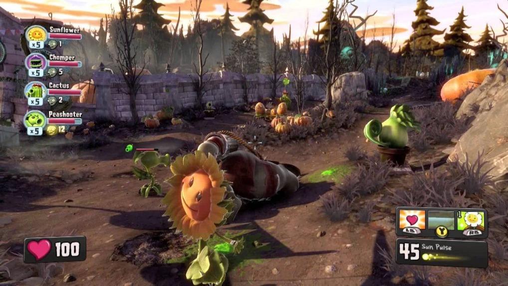 Plants Vs Zombies Garden Warfare Juego Pc Origin 449 00 En