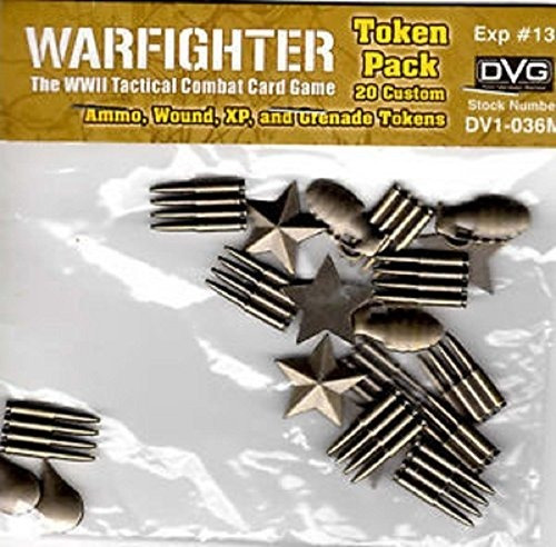 warfighter wwii expansion 13: tokens de metal