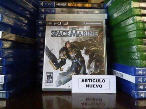 warhammer 40,000: space marine - fisico - playstation 3