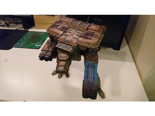 Warhammer 40000: Wardog Titan + Thunderhawk Gunship