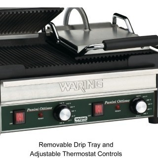 waring commercial wpg300 parrilla grill doble 3200 watts