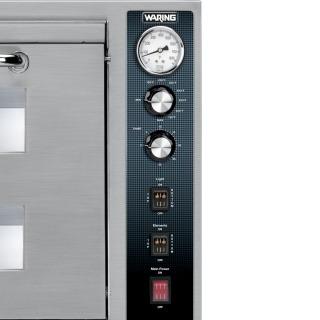 waring commercial wpo700 horno de pizza doble 3200 watts