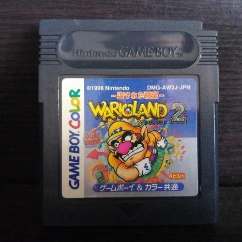 wario land 2 nintendo gameboy color zonagamz
