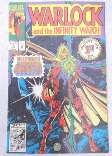 warlock and the infinity watch nº 1: infinity gauntlet 1992