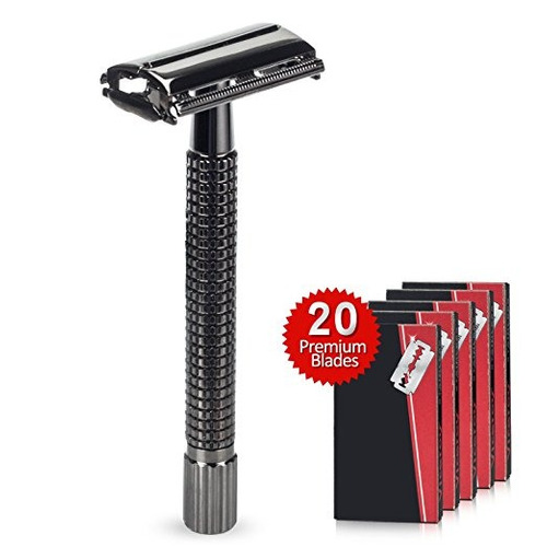 warmlife safety razor mariposa abierta doble edge safety