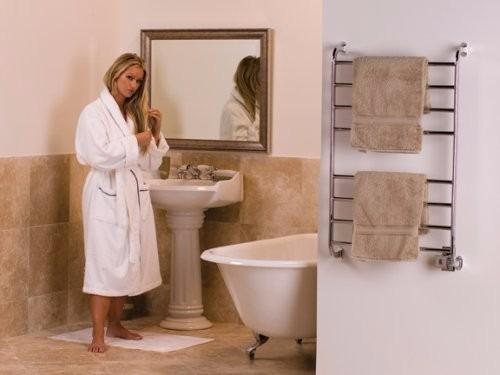 Warmrails calentador toallas ba o toallero electrico pared for Calentador de toallas electrico