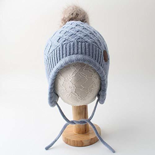 warmshop infant boys girls knitting pompom headgear
