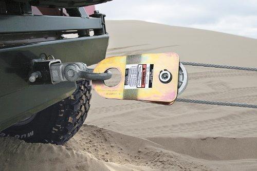 warn <88899> snatch block - 20000 lb capacidad de...