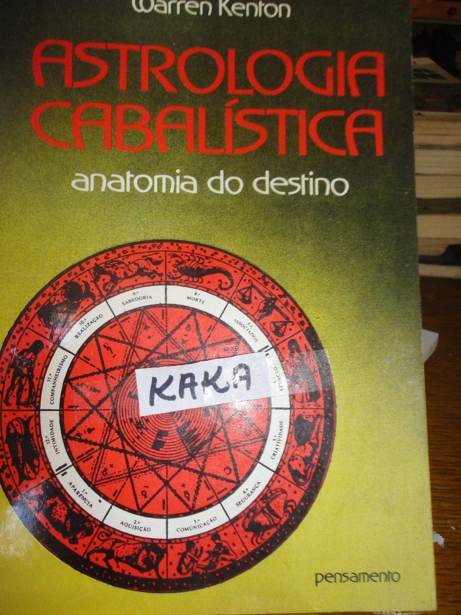 Warren Kenton Astrologia Cabalistica Anatomia Do Destino - R$ 24,90 ...