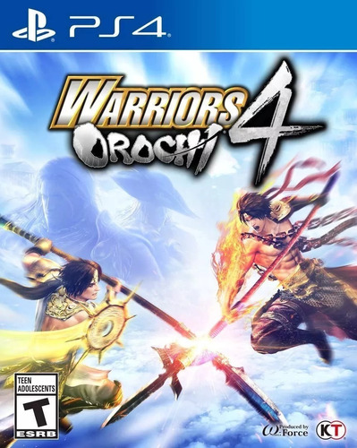warriors orochi 4 fisico nuevo ps4 envio gratis jazz pc