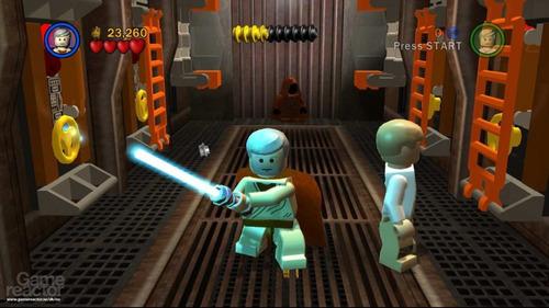 wars xbox 360 lego star
