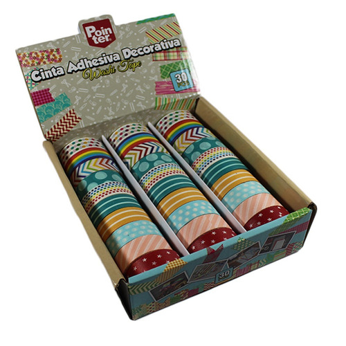 washi tape cinta adhesiva decorativa